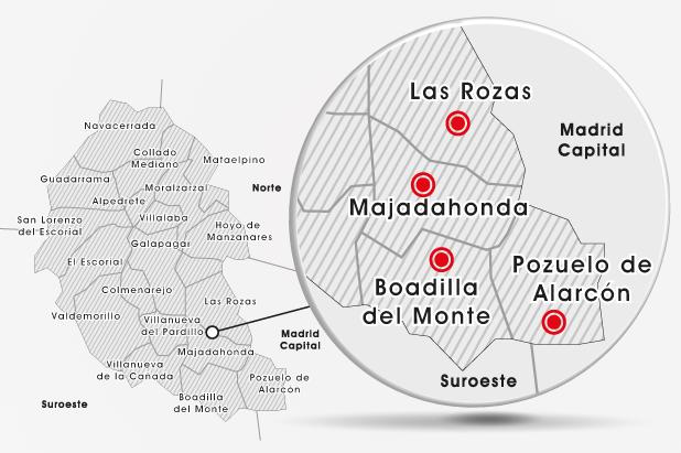 Cityocio la nueva guia del tiempo libre madrid noroeste for Madrid noroeste